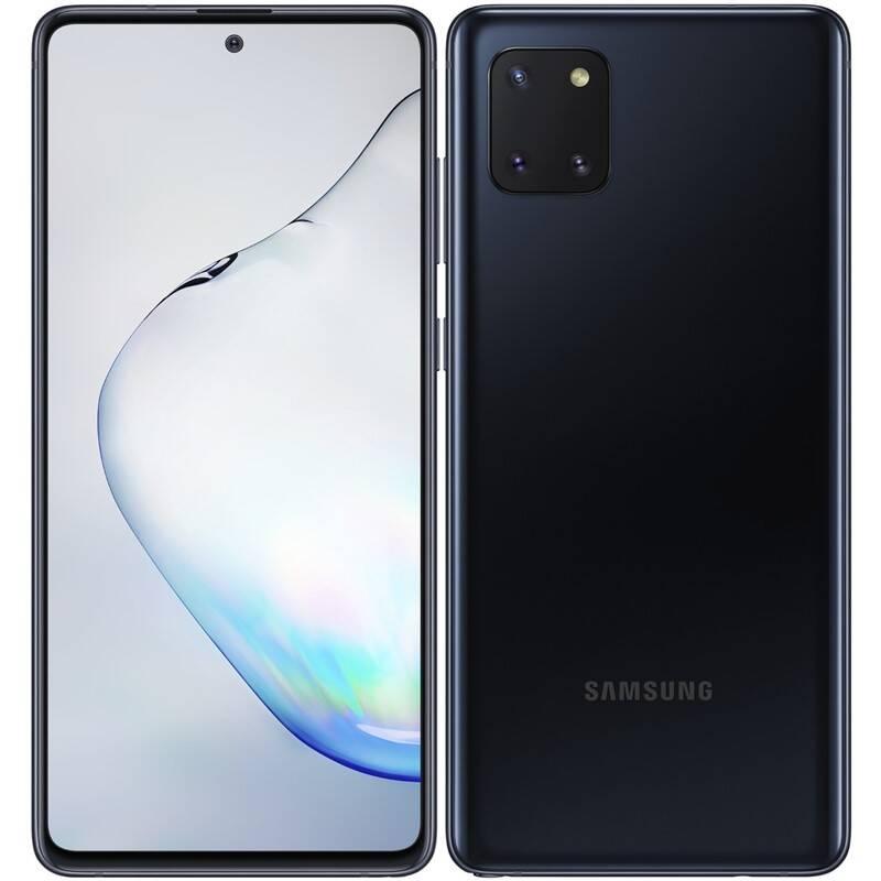 Mobilný telefón Samsung Galaxy Note10 Lite SK (SM-N770FZKDORX) čierny + Extra zľava 3 % | kód 3HOR2026