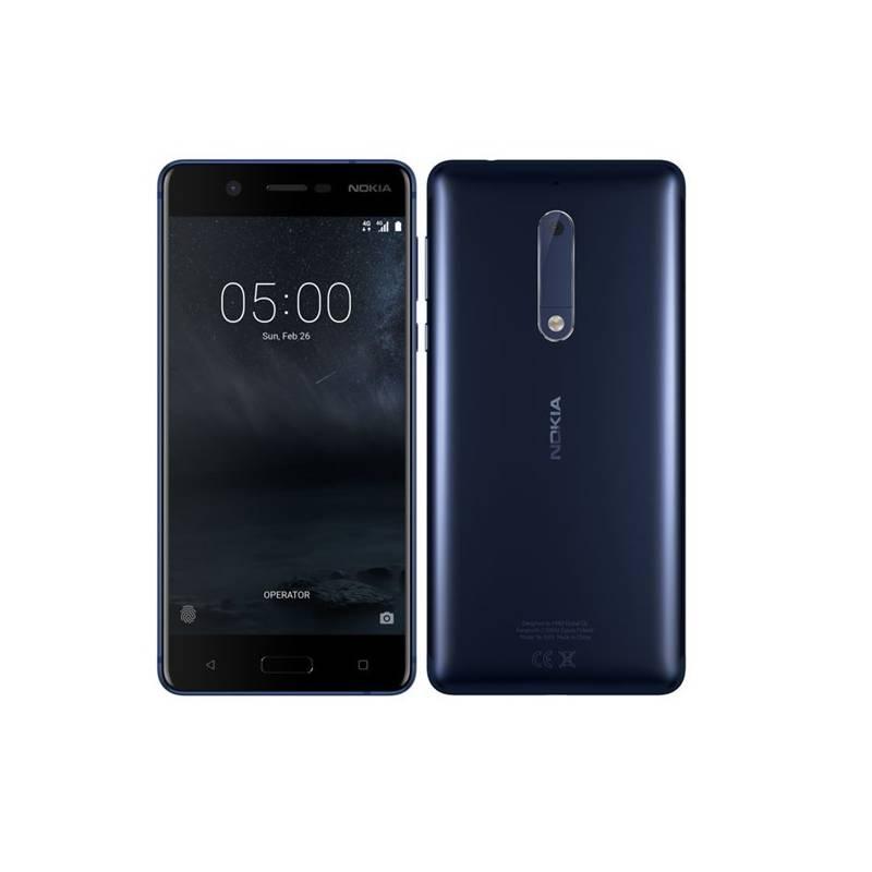 Mobilný telefón Nokia 5 Dual SIM (11ND1L01A10) modrý + Doprava zadarmo
