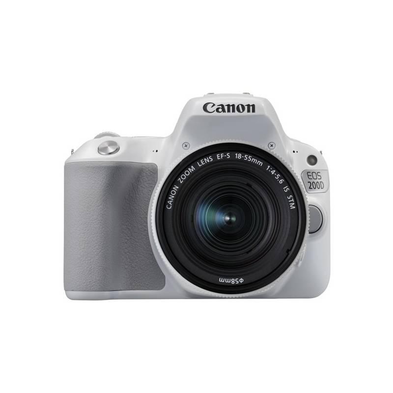 Digitálny fotoaparát Canon EOS 200D + EF18-55 IS STM (2253C001) biely + Doprava zadarmo
