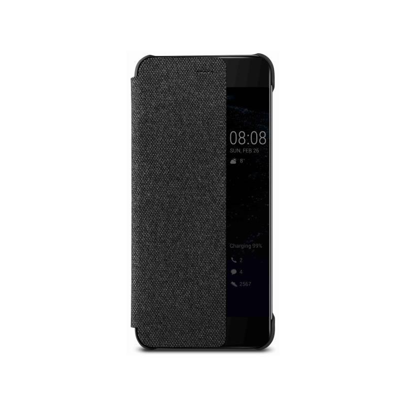 Pouzdro na mobil flipové Huawei Smart View pro P10 (51991886) šedé