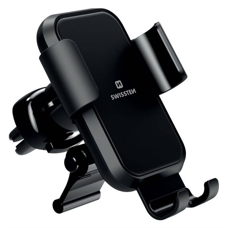 Držiak na mobil Swissten S-Grip G2-AV4, do mřížky (65010605) čierny