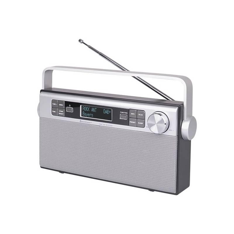 Rádioprijímač s DAB Soundmaster DAB650SI (DAB650SI) strieborný