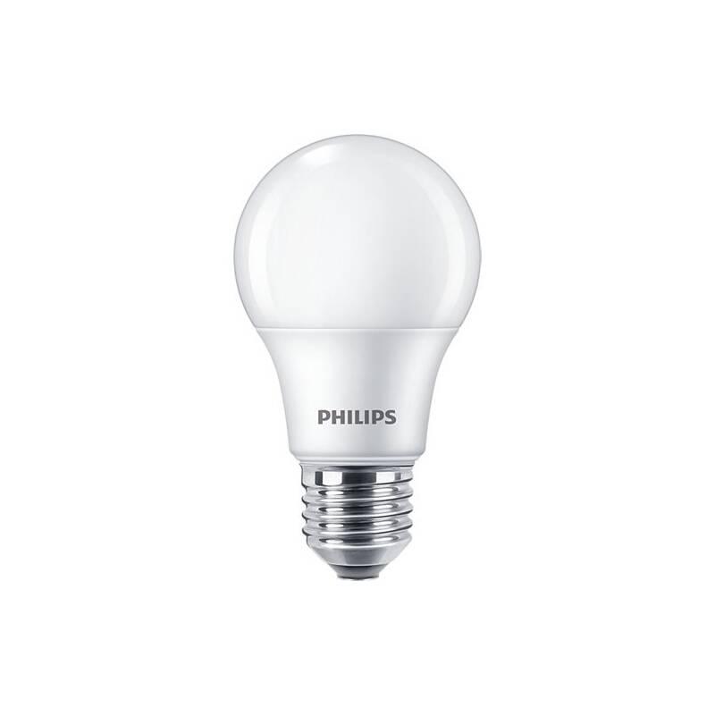 LED žiarovka Philips klasik, 8W, E27, teplá bílá, 6ks (8718699775513)
