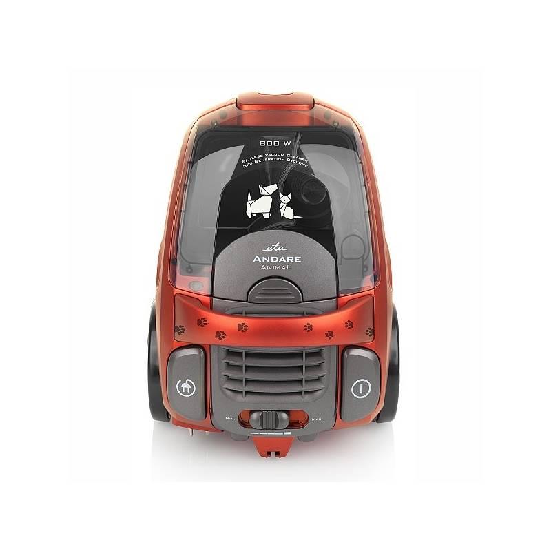 Vysávač podlahový ETA Andare Animal 149390020 červený + Doprava zadarmo