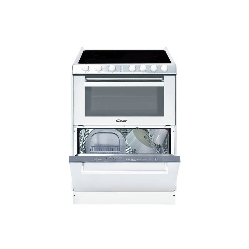 Kombinácia varná doska+umývačka+šporák Candy TRIO 9503/1 W biely + Doprava zadarmo