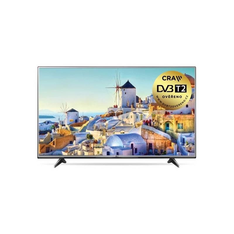 Televízor LG 60UH605V strieborná + Doprava zadarmo