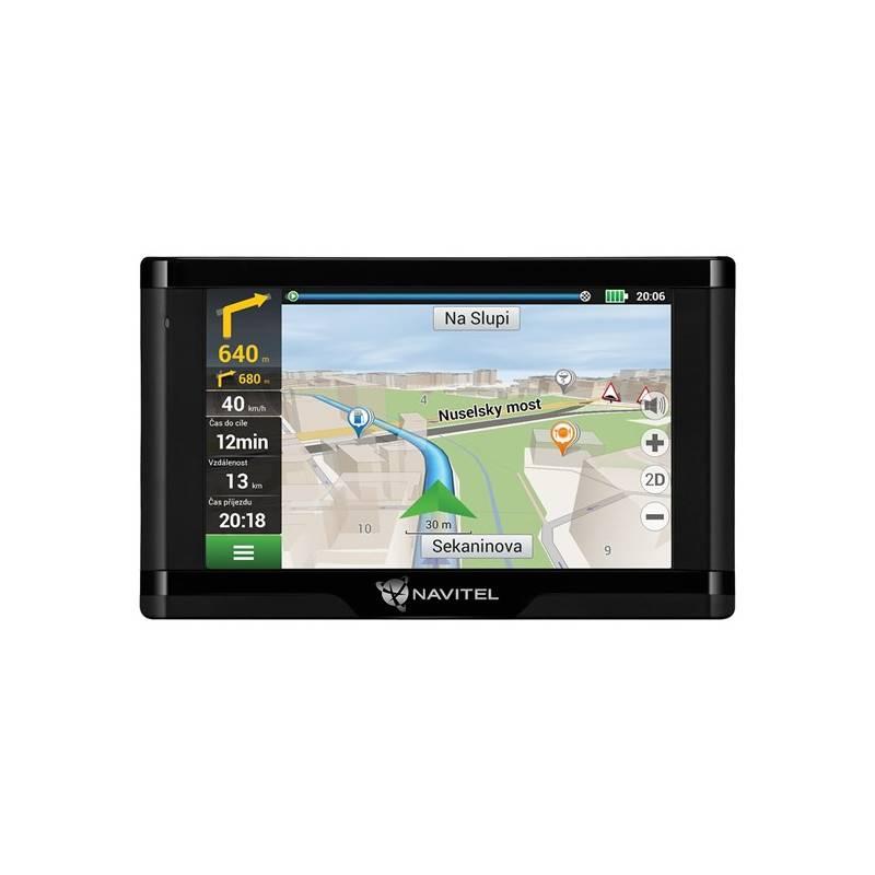 Navigačný systém GPS Navitel E500 Magnetic, Lifetime (C2047039) čierna + Doprava zadarmo