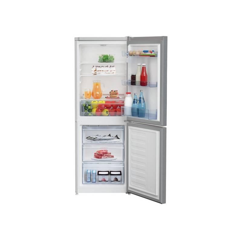 Kombinácia chladničky s mrazničkou Beko CSA 240 K20XP nerez