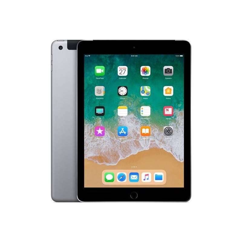 Dotykový tablet Apple iPad (2018) Wi-Fi + Cellular 32 GB - Space Gray (MR6N2FD/A)