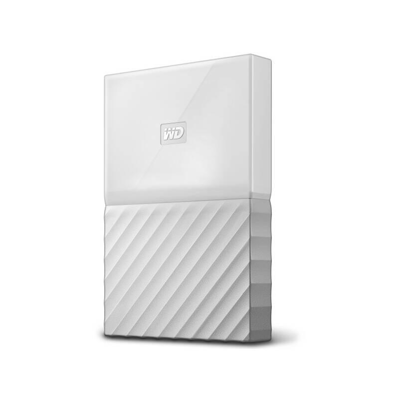 "Externí pevný disk 2,5"" Western Digital My Passport 1TB (WDBYNN0010BWT-WESN) bílý"