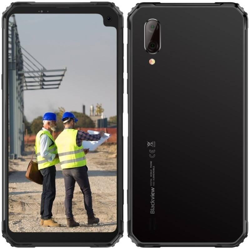 Mobilný telefón iGET BLACKVIEW GBV6100 (84001851) čierny + Doprava zadarmo