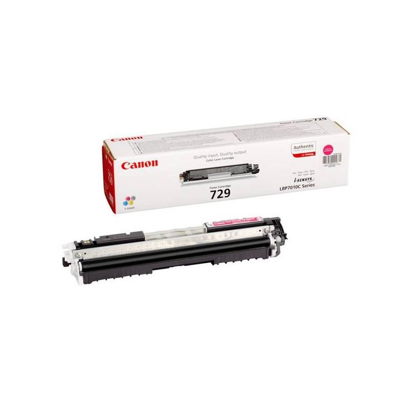 Toner Canon CRG-729M, 1000 stran - originální (4368B002) červený + Doprava zadarmo