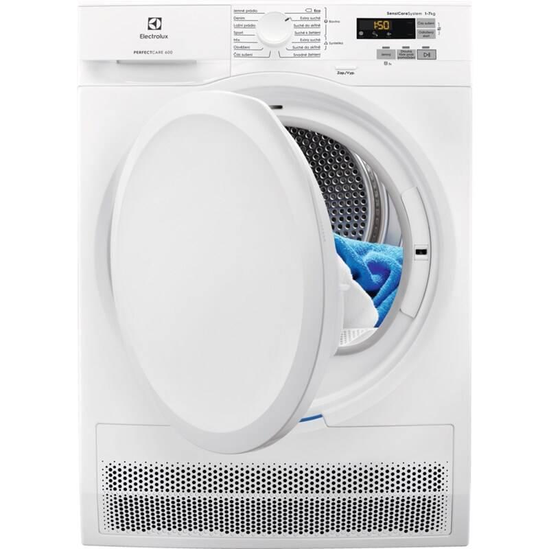Sušička bielizne Electrolux PerfectCare 600 EW6C527PC biela + Doprava zadarmo