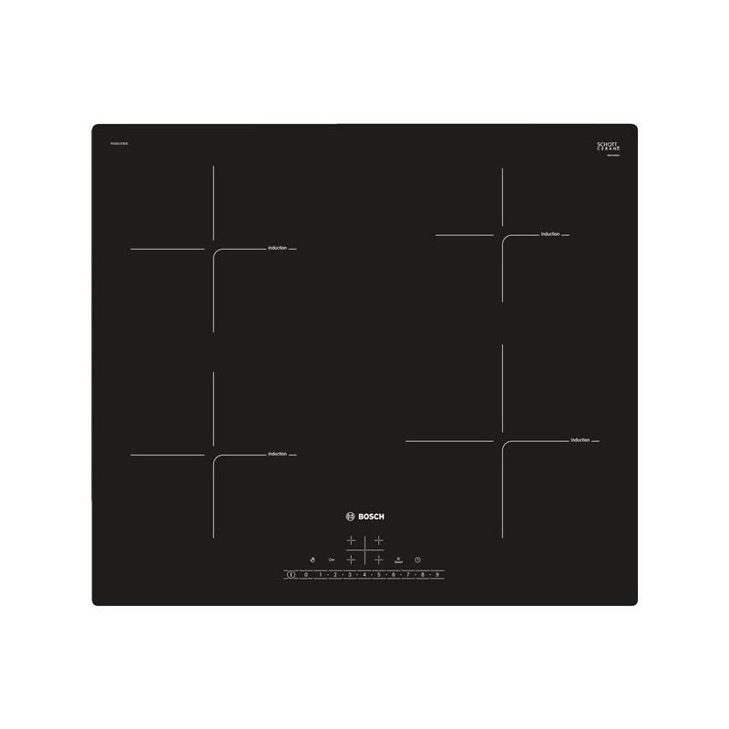 Indukční varná deska Bosch PUE611FB2E černá