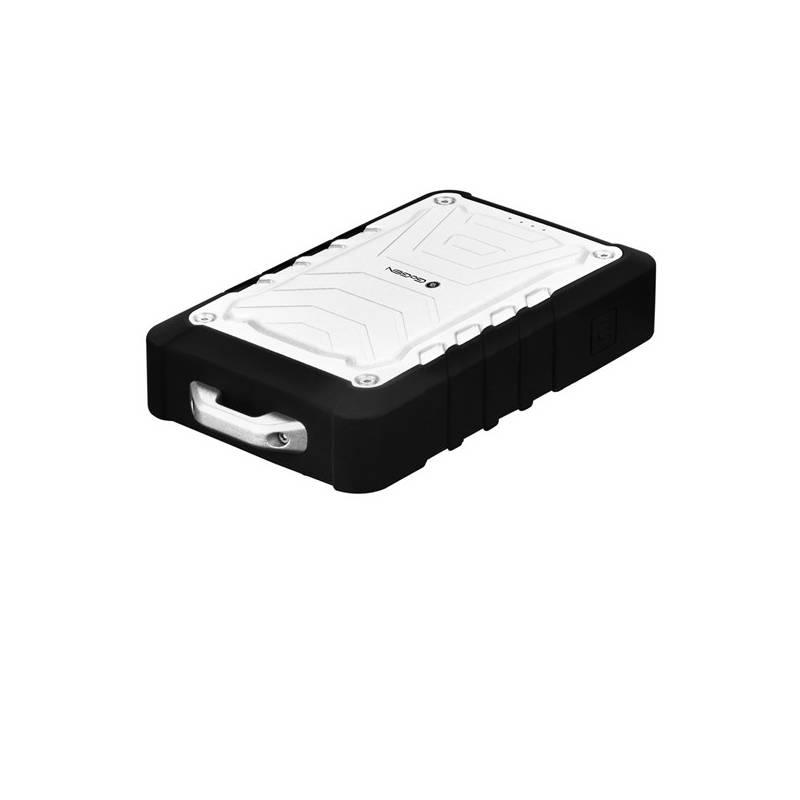 Power Bank GoGEN 7800mAh, outdoor, voděodolná IPX65 (GOGPB78001OUT) čierna/strieborná