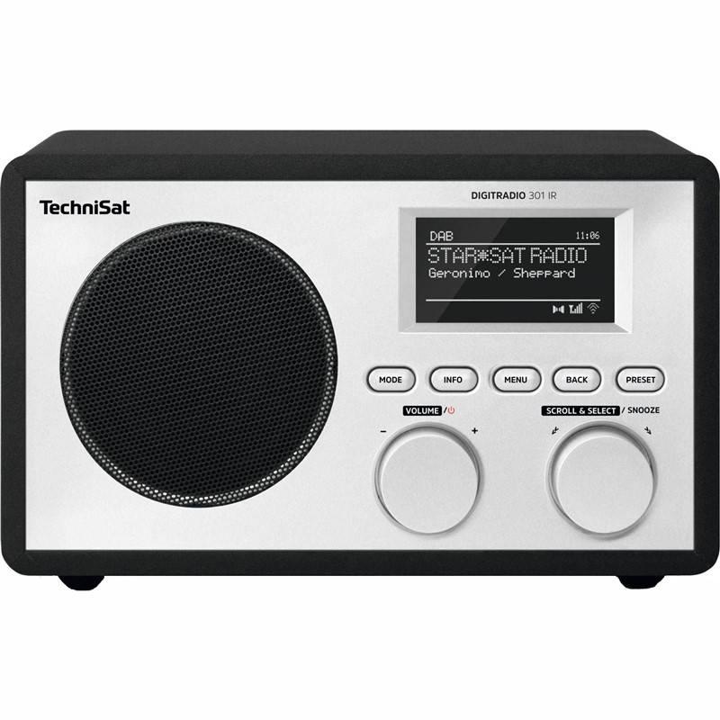 Internetový radiopřijímač Technisat DIGITRADIO 301 IR černý