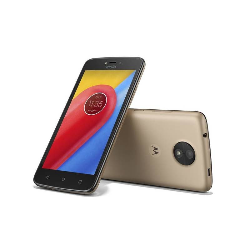 Mobilný telefón Motorola Moto C Dual SIM (PA6L0092CZ) zlatý