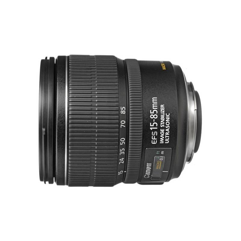 Objektív Canon EF-S 15-85mm f/3,5-5,6 IS USM (3560B005AA) čierny + Doprava zadarmo