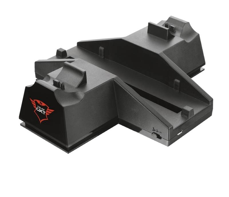 Dokovacia stanica Trust GXT 702 Cooling Stand & Duo Charging Dock (208581)
