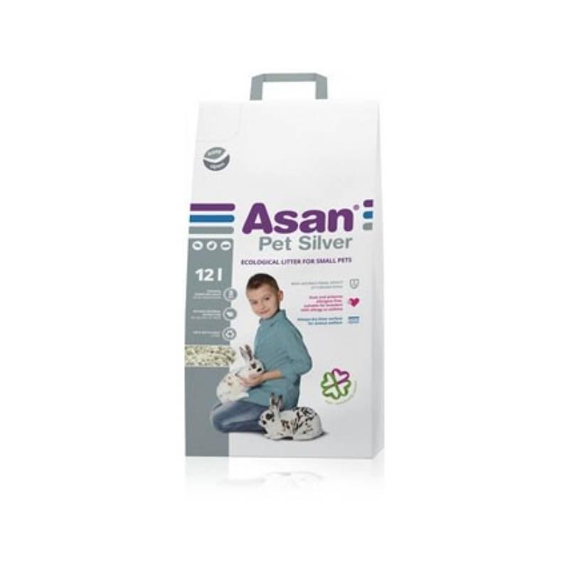 Podstielky Asan Pet Silver 12l