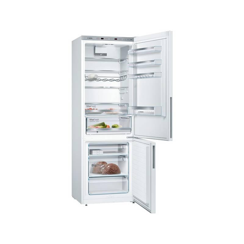 Kombinácia chladničky s mrazničkou Bosch KGE49VW4A biela + Doprava zadarmo