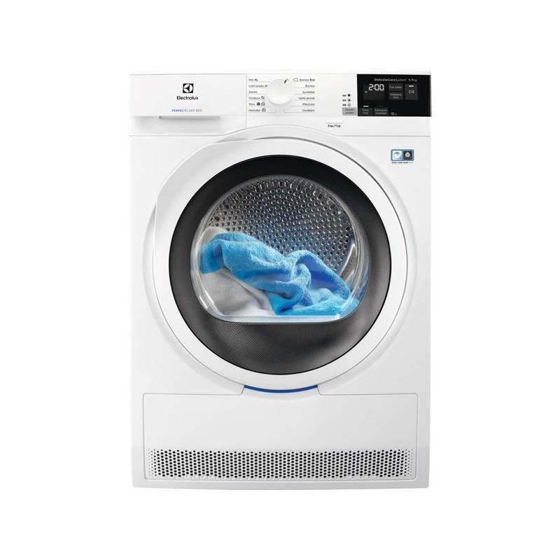 Sušička prádla Electrolux PerfectCare 800 EW8H457WC bílá + Electrolux 10 let záruka na inverto