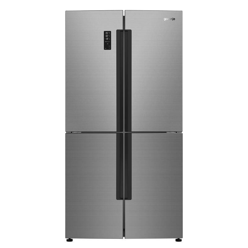 Americká lednice Gorenje NRM9181UX Inoxlook