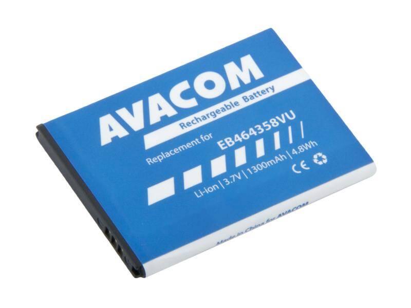 Batéria Avacom pro Samsung S6500 Galaxy mini 2 Li-Ion 3,7V 1300mAh (náhrada EB464358VU) (GSSA-S7500-S1300)