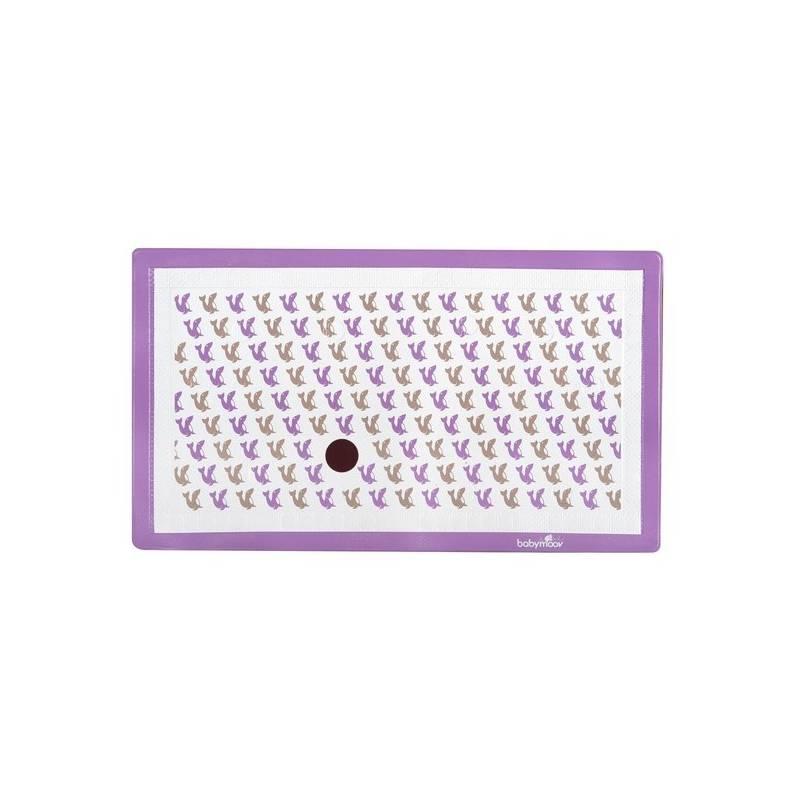 Podložka protišmyková Babymoov se senzorem, lachtan fialová