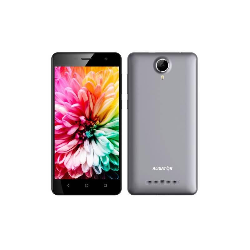 Mobilný telefón Aligator S5062 Dual SIM (AS5062GY) sivý
