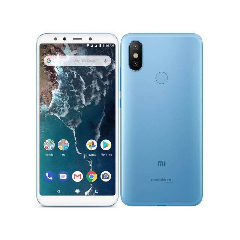 Mobilný telefón Xiaomi Mi A2 32 GB (19244) modrý + Doprava zadarmo