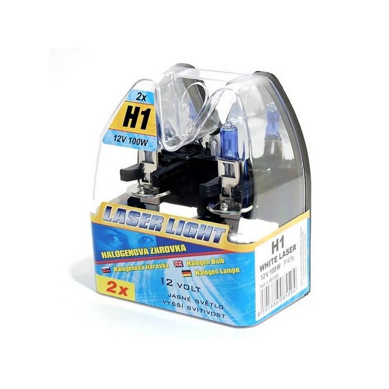 Autožiarovka Compass 12 V H1 100W WHITE LASER 2 ks