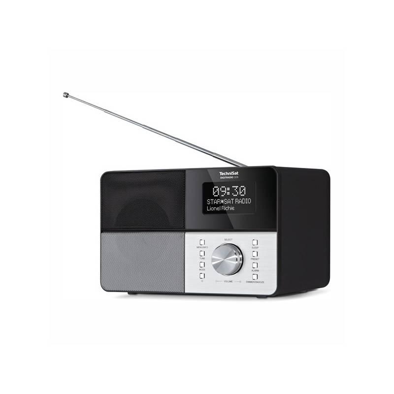 Radiopřijímač s DAB Technisat DAB306 černý