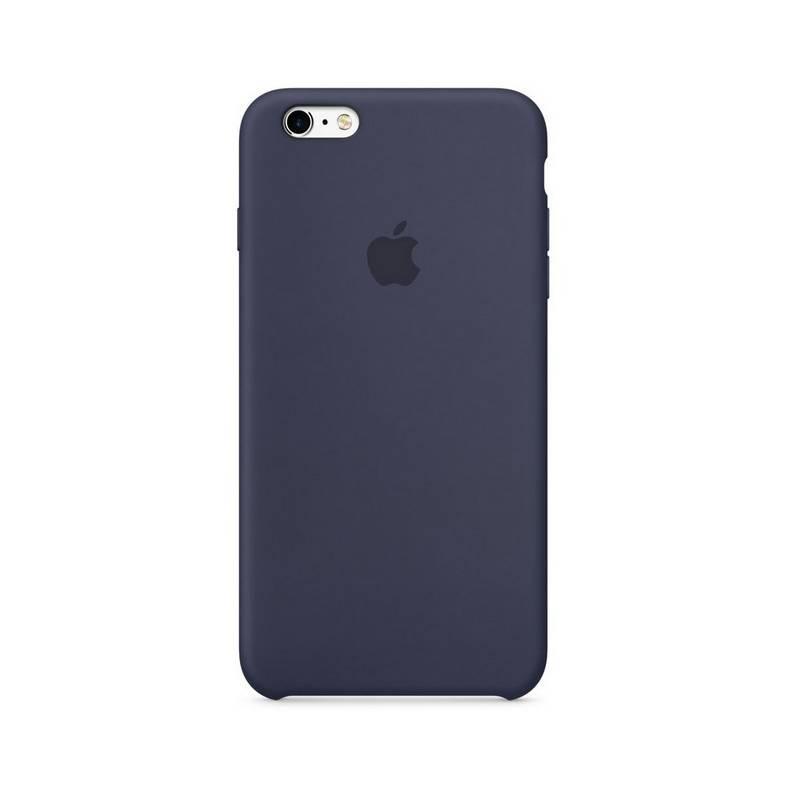 Kryt na mobil Apple Silicone Case pro iPhone 6/6s - půlnočně modrý (MKY22ZM/A)