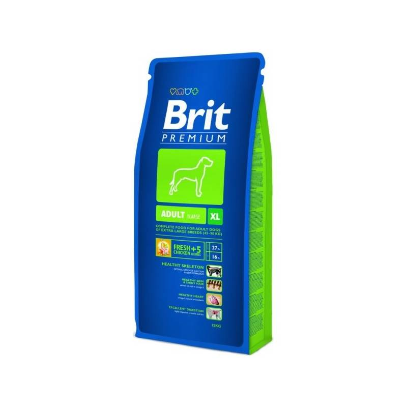Granule Brit Premium Dog Adult XL 15 kg