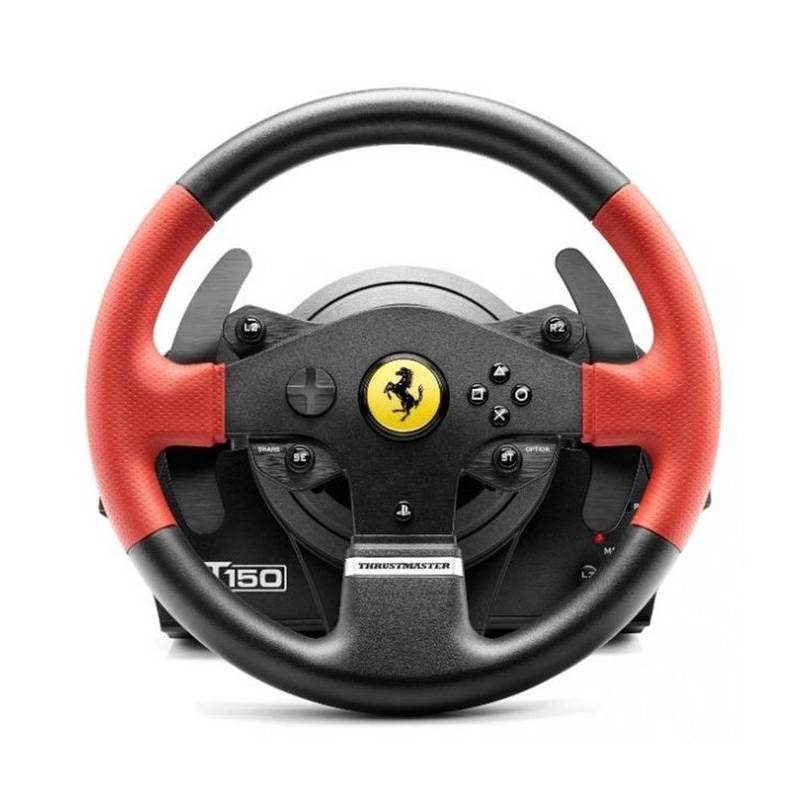 volant thrustmaster t150 ferrari ped ly pro ps4 ps3 pc 4160630. Black Bedroom Furniture Sets. Home Design Ideas