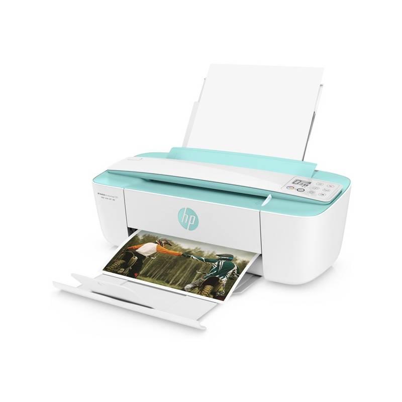 Tlačiareň multifunkčná HP DeskJet Ink Advantage 3785 (T8W46C#A82) biela farba/zelená farba