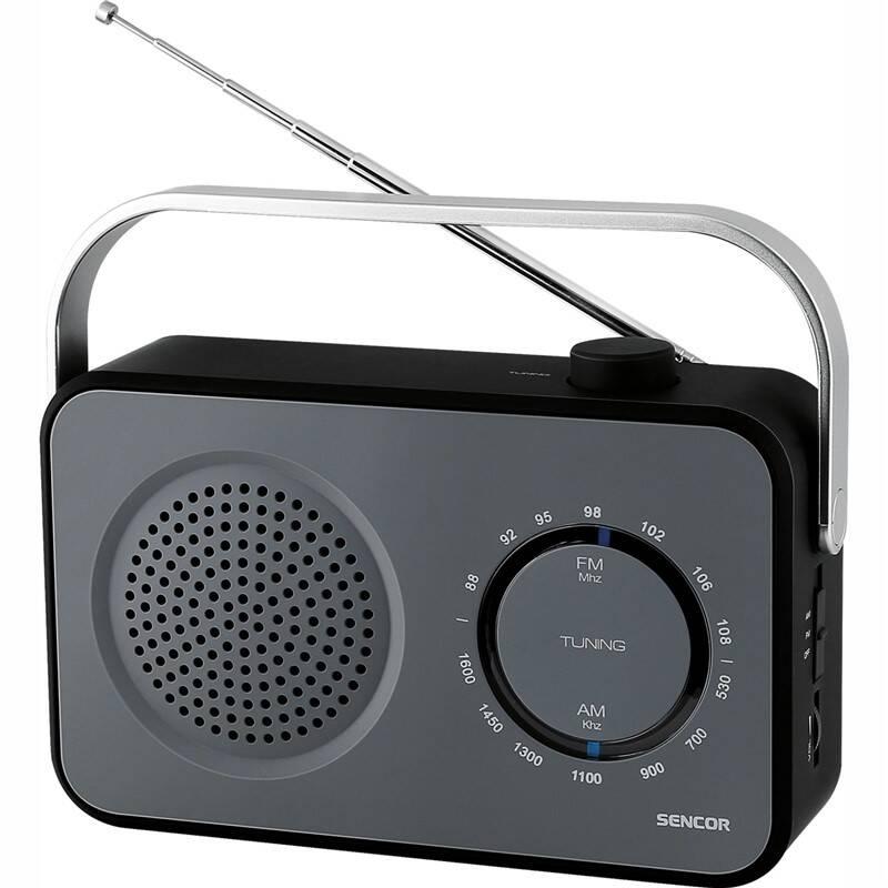 Radiopřijímač Sencor SRD 2100 černý