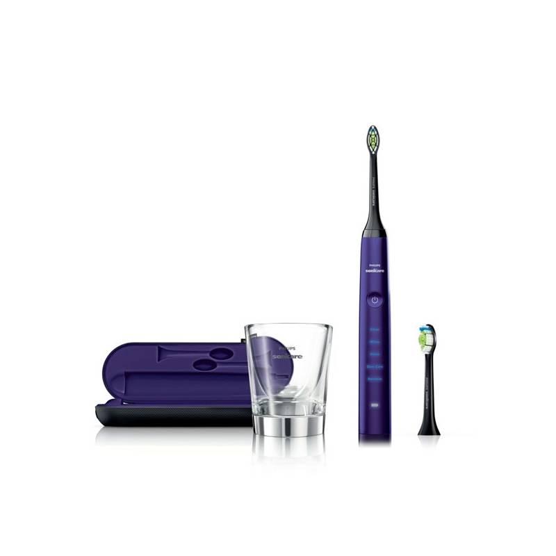 Zubná kefka Philips Sonicare DiamondClean HX9372/04 fialový + Doprava zadarmo