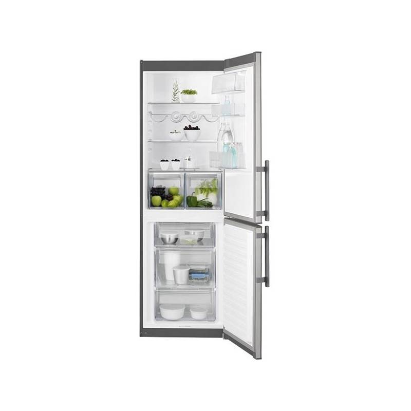 Kombinácia chladničky s mrazničkou Electrolux EN3601MOX nerez + Doprava zadarmo