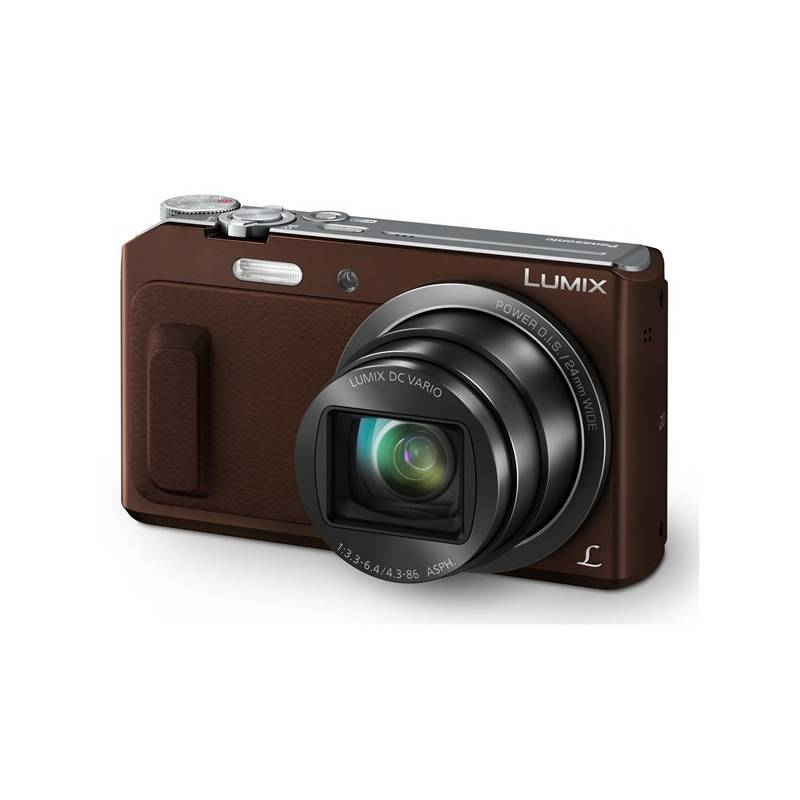 Digitálny fotoaparát Panasonic DMC-TZ57EP-T hnedý + Doprava zadarmo