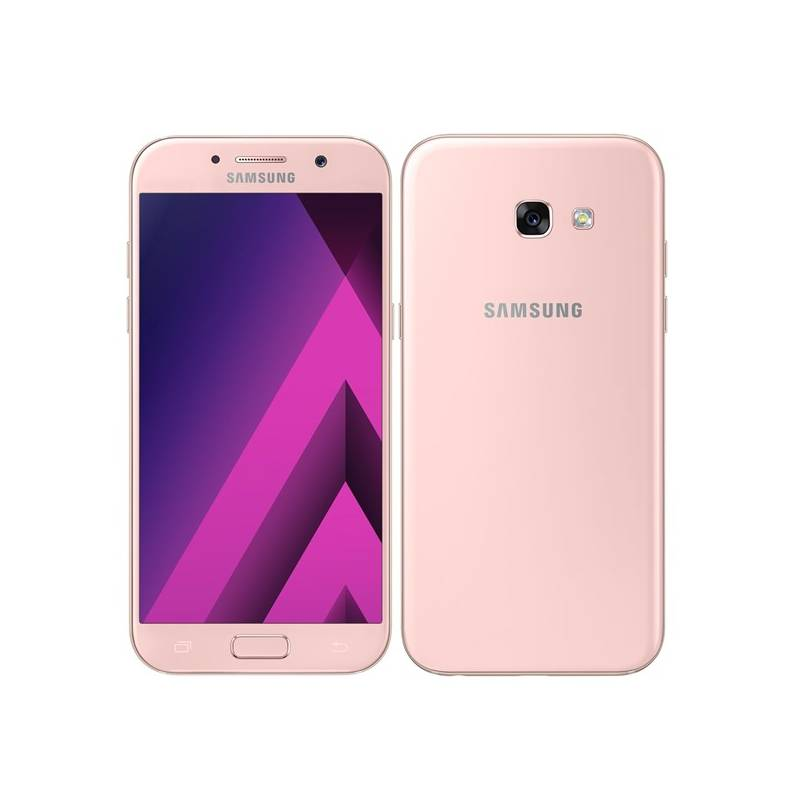 Mobilný telefón Samsung Galaxy A5 (2017) (SM-A520FZIAETL) ružový Software F-Secure SAFE, 3 zařízení / 6 měsíců (zdarma) + Doprava zadarmo