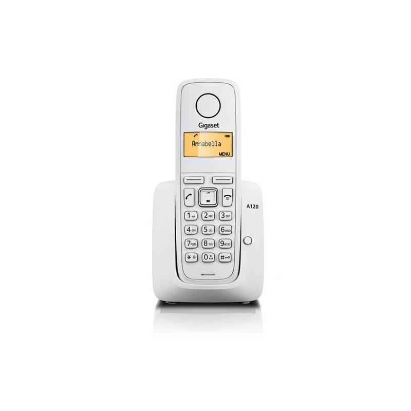 Domáci telefón Siemens Gigaset A120 (S30852-H2401-R602) biely