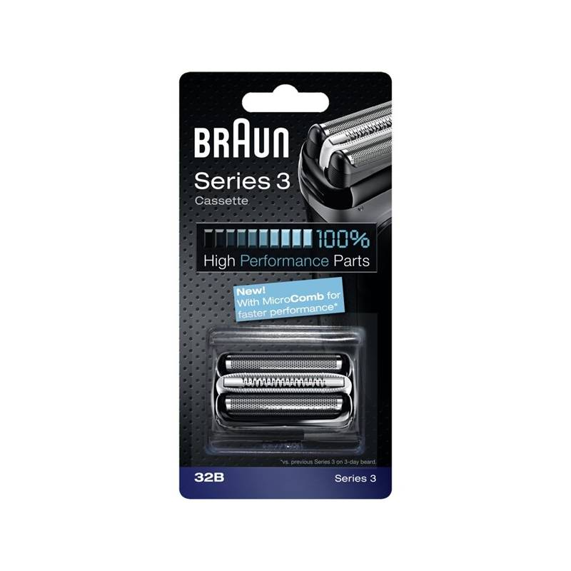 Príslušenstvo pre holiace strojčeky Braun Series3 - 32B Micro comb čierne