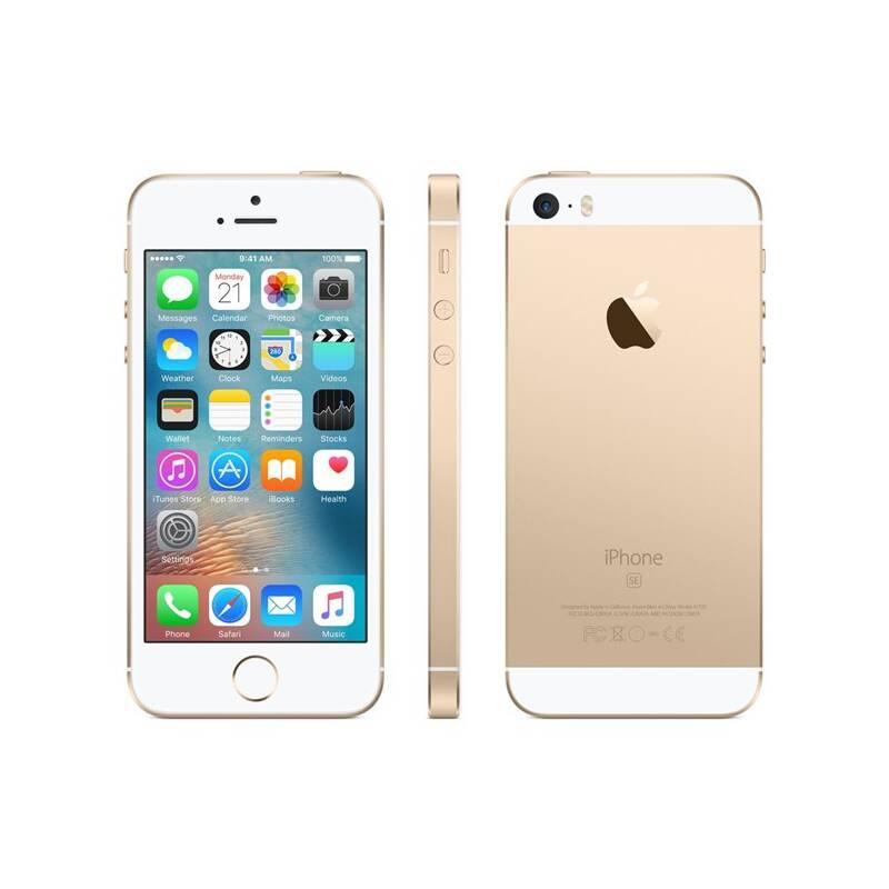 Mobilný telefón Apple iPhone SE 32 GB - Gold (MP842CS/A) Software F-Secure SAFE, 3 zařízení / 6 měsíců (zdarma)