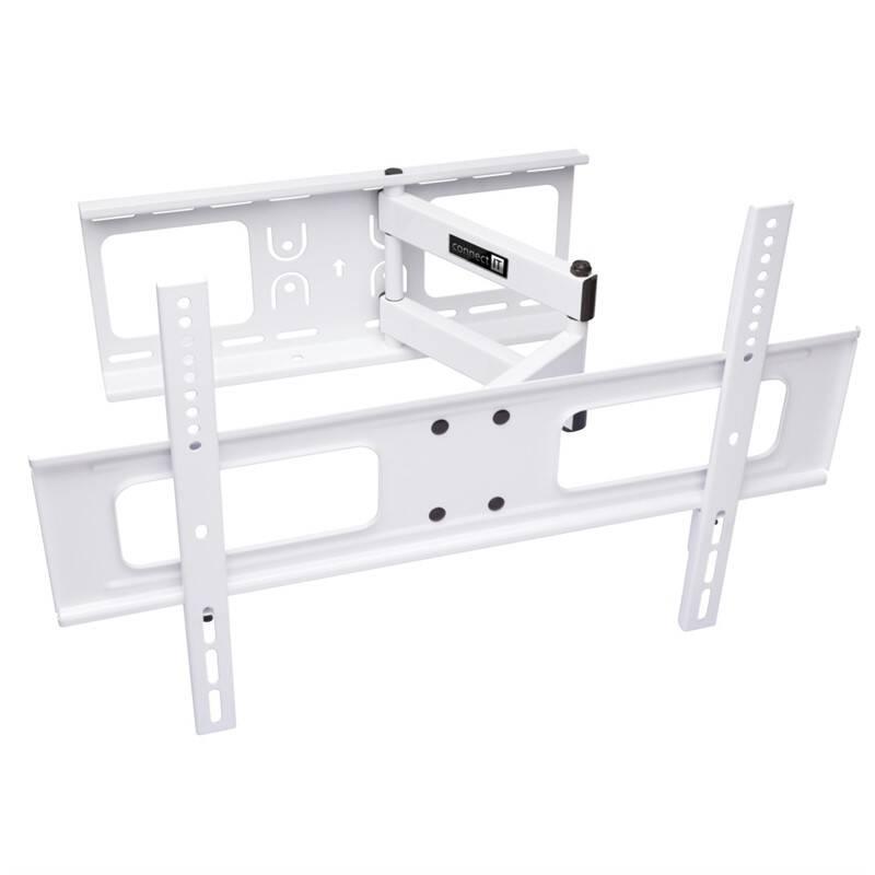 """Držiak na TV Connect IT polohovatelný, pro úhlopříčky 37"""" až 70"""", nosnost 50 kg (CI-787) biely"""