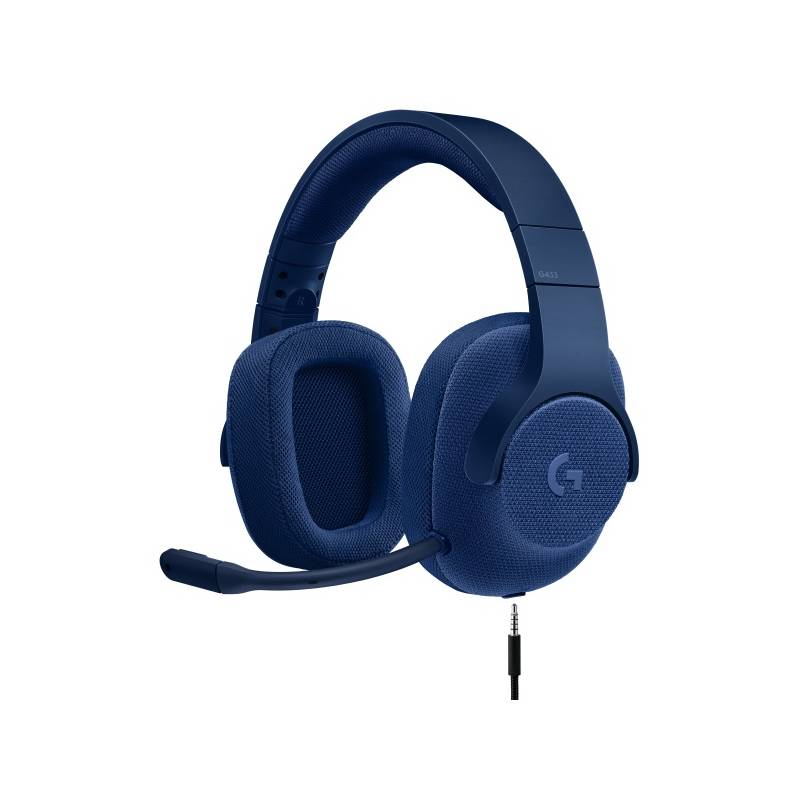 Headset Logitech Gaming G433 7.1 Surround (981-000687) modrý