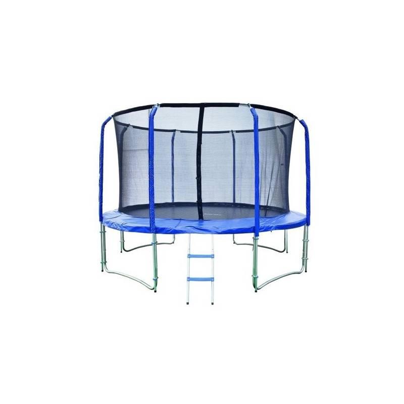 Trampolínový set Marimex 427 cm modrá farba
