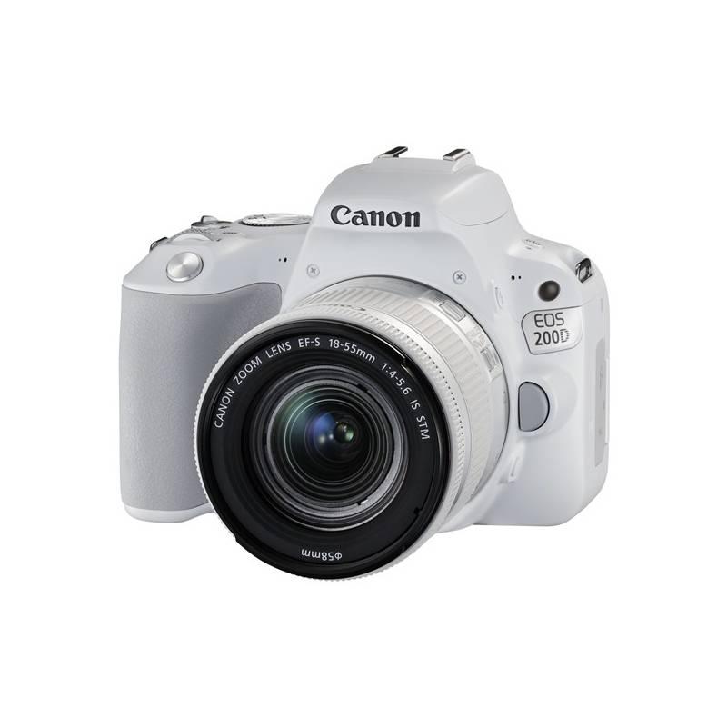 Digitálny fotoaparát Canon EOS 200D + 18-55 IS STM (2253C001) biely + Doprava zadarmo