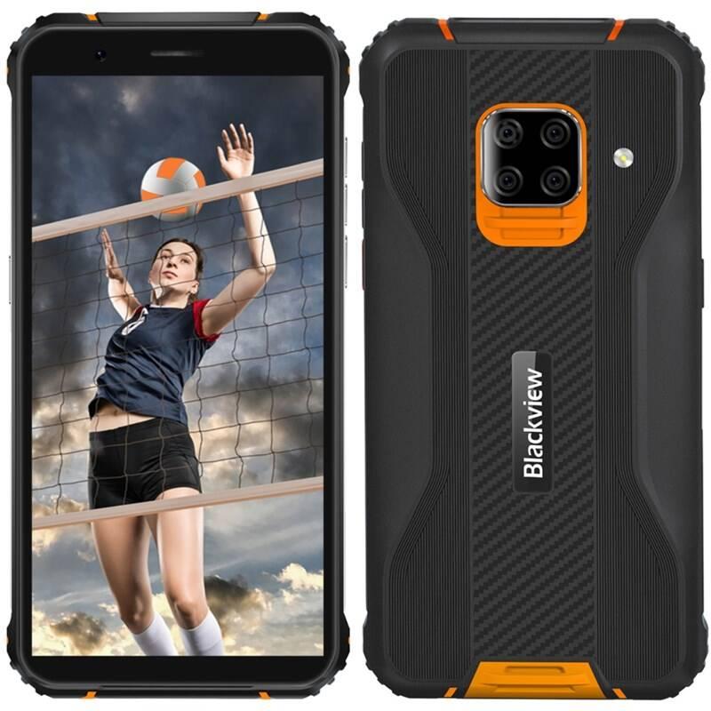 Mobilný telefón iGET Blackview GBV5100 (84002489) oranžový